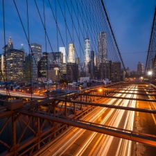Brooklyn bridge rush
