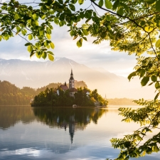 Good Morning Bled Lake