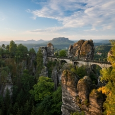 Morning at Bastei