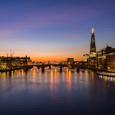 River Thames sunrise